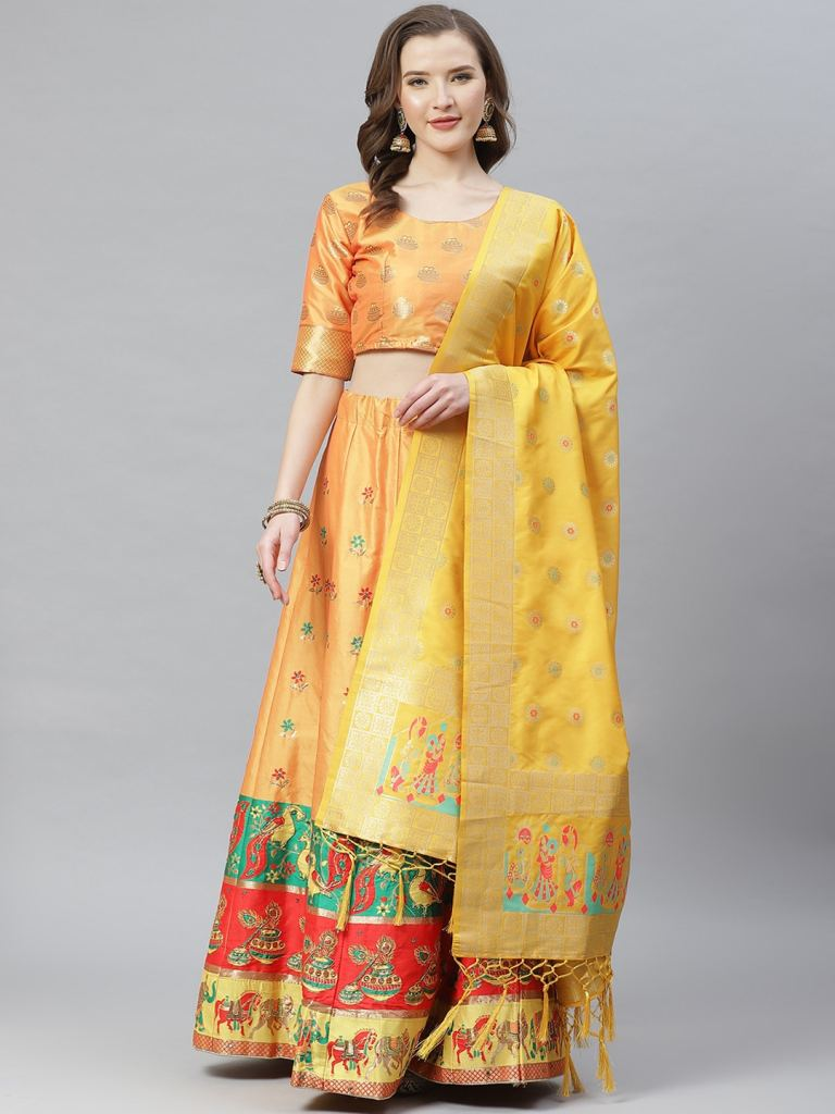 product-img/Women-Yellow-Colour-Woven-Work-1607325474.jpg