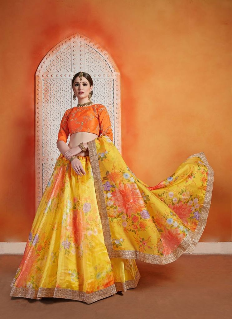 PARTY WEAR LAHENGA CHOLI