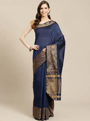 Attrative style fancy dark blue color cotton fabric Designer fancy update collection