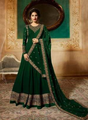 Dark Green Modern Suits