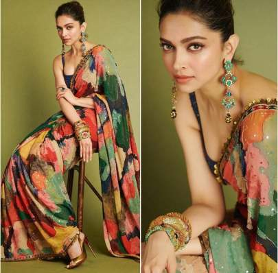 Multi Color Georgette Base designer